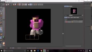 [ROBLOX] Cómo hacer un renderizado - C4D R17 -