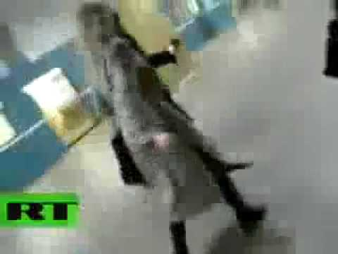 Dramatic amateur video of Moscow bombing shortly after metro explosion