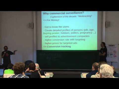 Webtracking und Gegenmassnahmen - Mr. X und Bernhard Z.