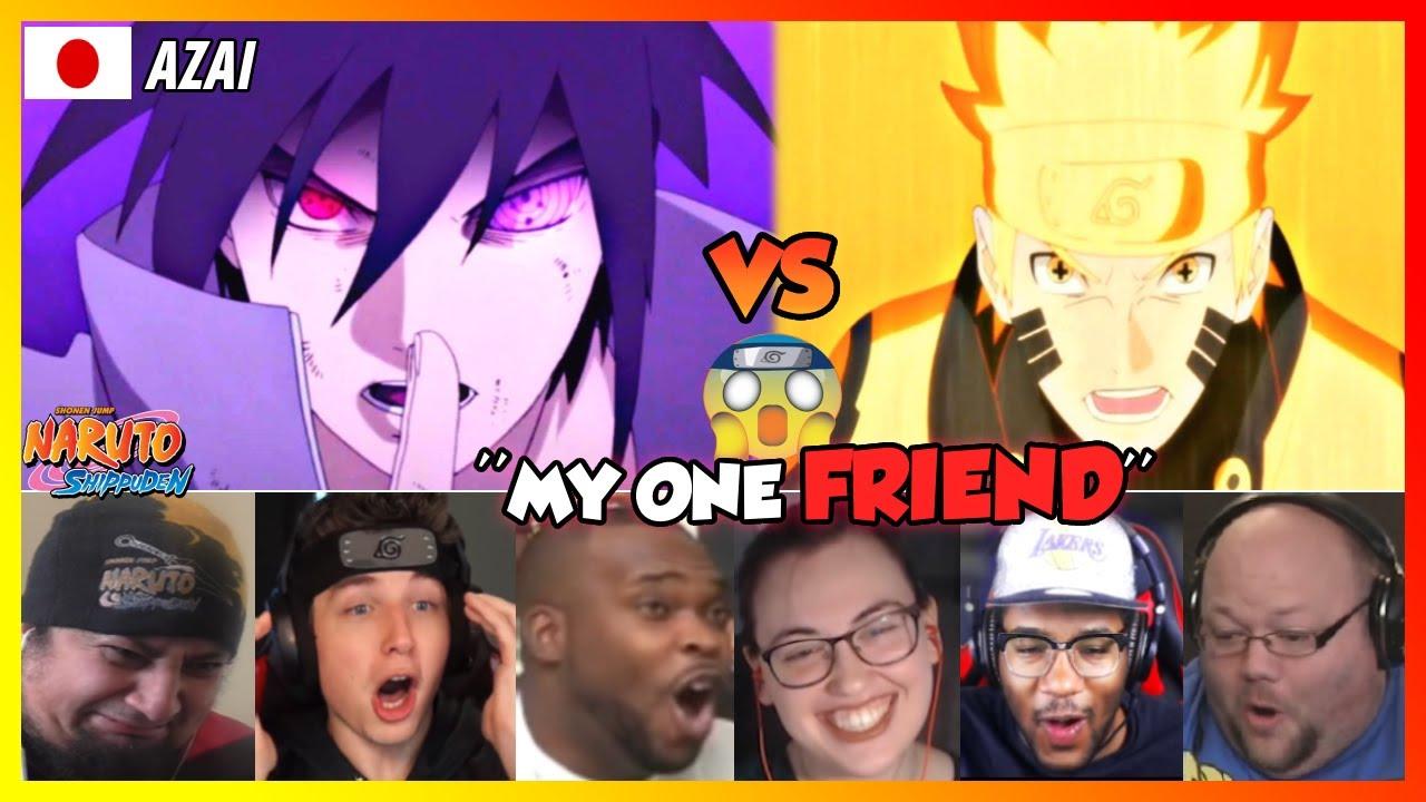 Download Naruto vs Sasuke   Final Fight Reaction Mashup [Naruto Shippuden 476-477ナルト 疾風伝]