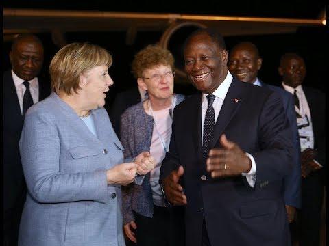 Arrivée des Chefs d'État et de Gouvernement au Sommet UA-UE