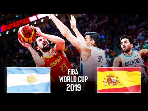 🔴 Argentina 🇦🇷 v Spain 🇪🇸 | FINAL | FIBA Basketball World Cup 2019