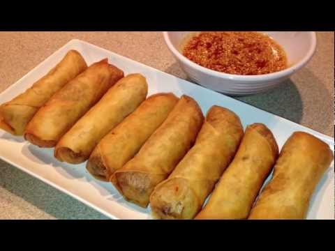 how to make lumpiang shanghai stay crispy
