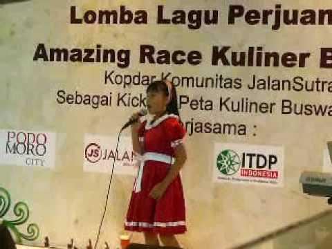 Indonesia Heroic Song,   'Pantang Mundur' by Ella Christina