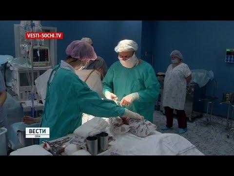 Министр краевого Минздрава принял роды двойни в Сочи