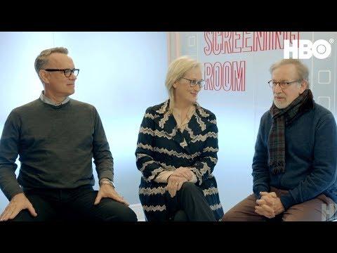 Download Youtube: Steven Spielberg, Tom Hanks & Meryl Streep on The Post (2017 Movie) | HBO Screening Room
