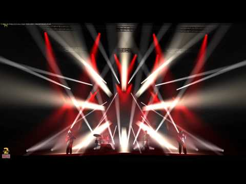 Change by Deftones timecoded 3D lighting simulation By Davignon Mathieu