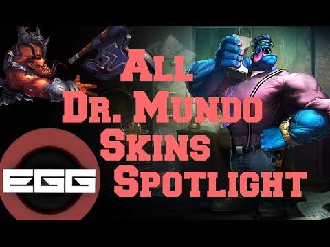 All Dr.Mundo Skins Spotlight - League of Legends Skin ... Executioner Mundo