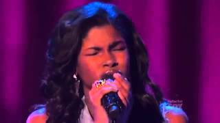Diamond White - Because You Love Me The X Factor USA 2012 (Thanksgiving week) Live Show 6