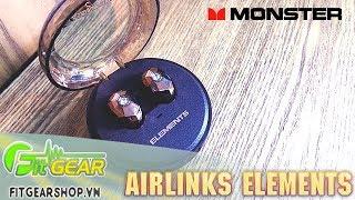 Monster AIRLINKS ELEMENTS - Tai nghe True Wireless cực kì độc đáo