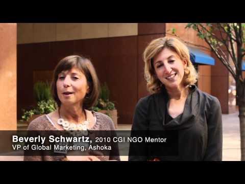 Ashoka at CGI: Nonprofit Mentorship Edition
