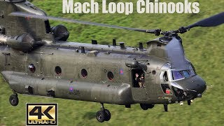 CHINOOK  LOW LEVEL CLOSE UP, MACH LOOP UK.