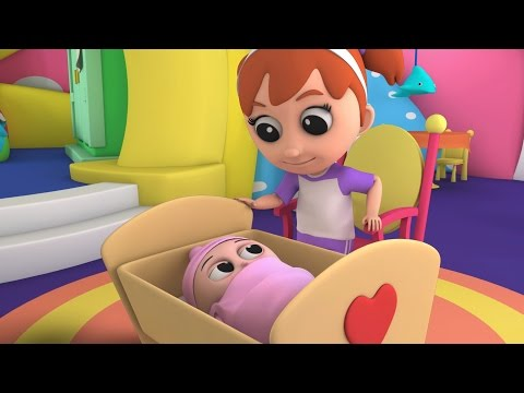 Luke & Lily - Rock a bye baby | Kids songs | Lullaby Song | Nursery Rhymes