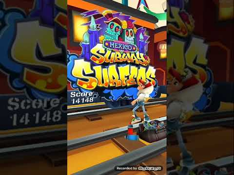 Subway Surf (mexico) Daily channel completed (CITY) in 2 minute