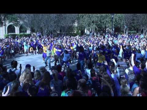 LSU Athletics Flash Mob - Lady Tiger Basketball