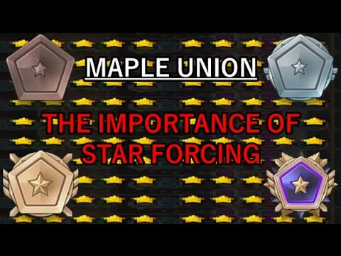 MapleStory: The Importance of Star Force for Maple Union