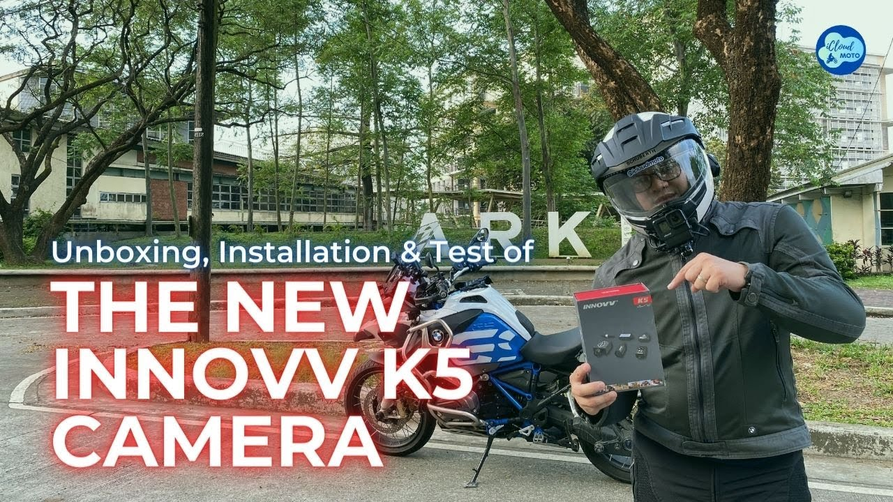 The New K5 Motorcycle Dashcam Review From iCloud Moto Channel