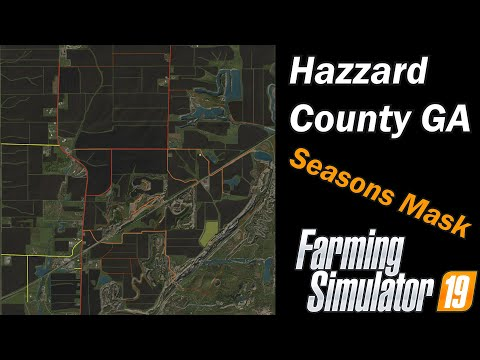 Farming Simulator 19 - Map First Impression - Hazzard County Georgia