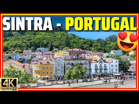 [4K] Sintra - Portugal, a Real-Life Fairytale Town Near Lisbon | Walking Tour