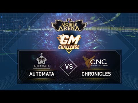GM Challenge : Automata vs Chronicles