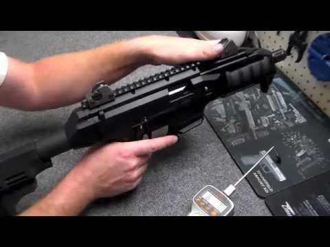 How to do a CZ Scorpion Evo 3 Trigger Job!