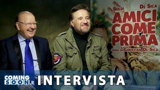 Amici Come Prima: Christian De Sica E Massimo Boldi   Intervista Esclusiva