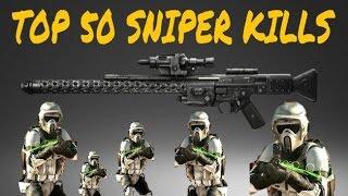 Star Wars Battlefront - SNIPER MONTAGE | BEST SNIPER KILLS