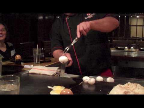 Samurai's Hibachi Chef Dan