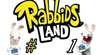 Wii U Let´s Play - Rabbids Land #1