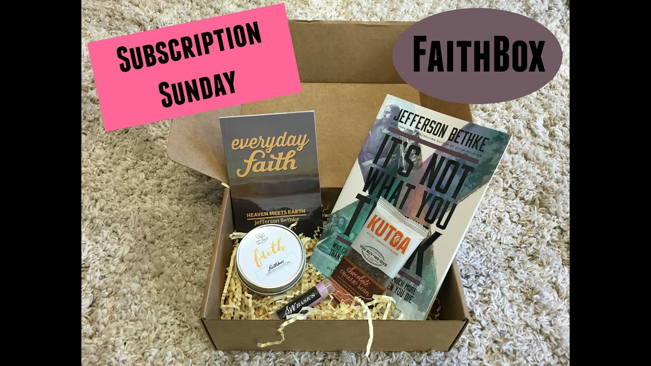 Faithbox #1 Box For Christians 🙏 👉🏼Each Box Includes: 👉🏼Daily Devotional 📖 👉🏼Enriching Content ️ 👉🏼Amazing Products From Companies That Do Good🌎.