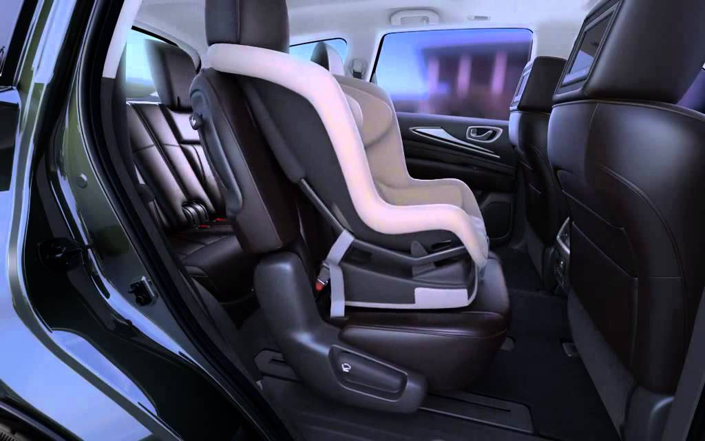 2015 Infiniti Qx60 3rd Row Access Youtube