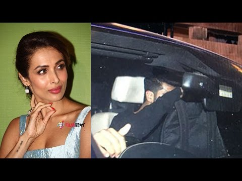 Arjun Kapoor spotted leaving Malaika Arora's house after midnight | Filmibeat