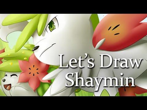 Let's Draw: Shaymin