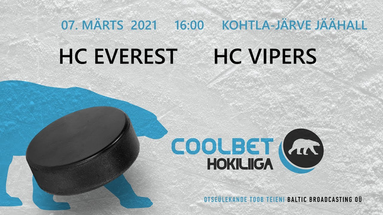 HC Everest - HC Vipers, 07.03.2021 - Coolbet hokiliiga