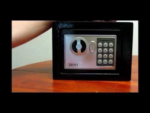 Zeny® Digital Electronic Mountable Safe Security Box