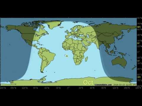 Видео Карта поясов земли