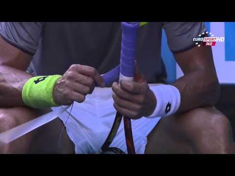 David Ferrer Vs Thomas Berdych Australian Open 2014 1/4 4 Set 720 HD