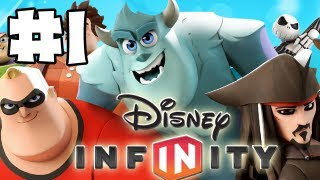 Disney Infinity - Gameplay Walkthrough - Toy Box - Part 1 - Knowledge Is Power (hd)