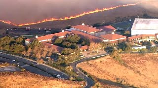 What's Inside the Reagan Library Under Threat From Fires