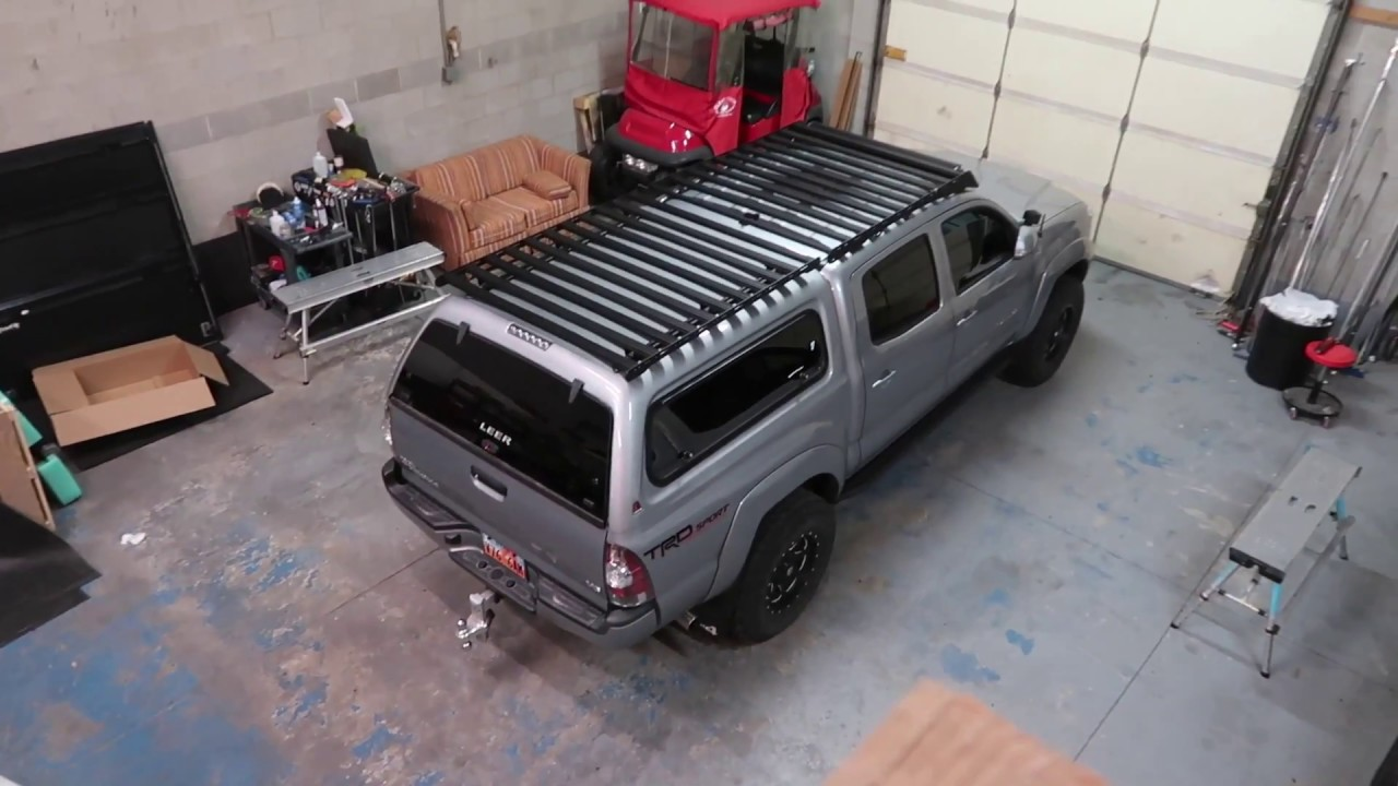 Trd Pro And Sport Prinsu Roof Rack Install Youtube