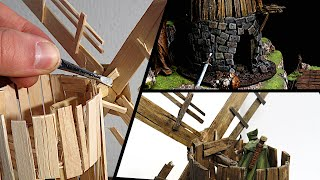 Building a Ruined Windmill for Dungeons & Dragons (Old Bonegrinder)