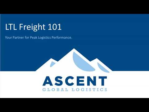 COSE WebEd Series: Domestic Freight Management 101 Presented by Ascent Global Logistics