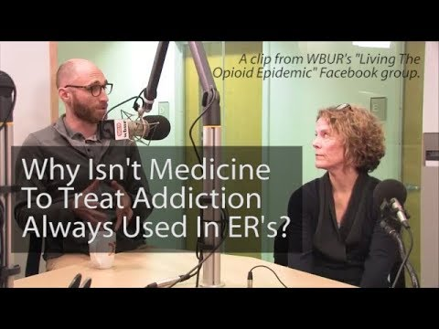 Why Isn't Addiction Treatment Medication Offered In The ER?