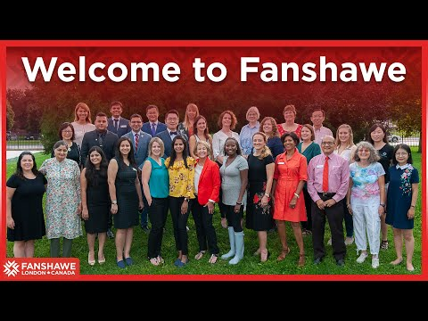 Welcome To Fanshawe | Fanshawe International