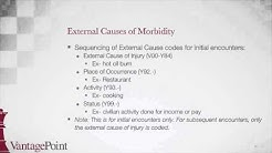 ICD-10-CM BootCamp: External Causes of Morbidity