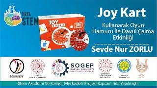 Joy Kart Kullanarak Oyun Hamuru İle Davul Çalma Etkinliği