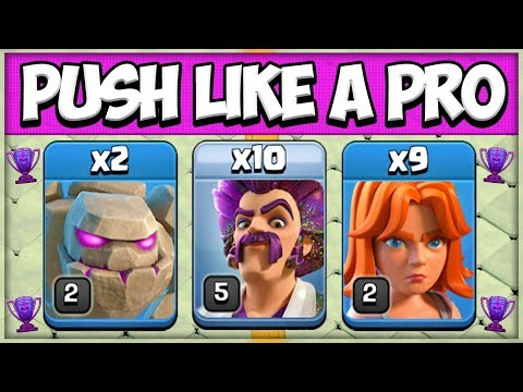 TH 8 Trophy Push Attack Strategy | Best TH 8 Army To Go To Champion League In Clash Of Clans