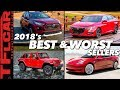 Winners and Losers: These are the Top 10 Best & Worst Selling Cars of the Year!