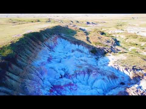 Paint Mines Interpretive Park 4K Drone Footage