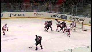 Roman Cervenka #10. First 10 goals KHL 11/12.